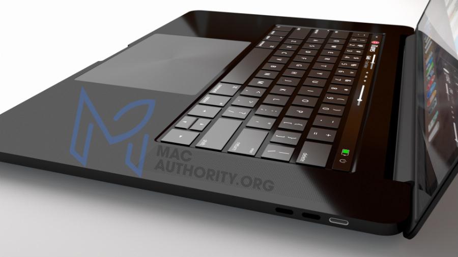 MacBook Pro 2016 black concept - MacBook Pro 2016: a keynote on October 27?