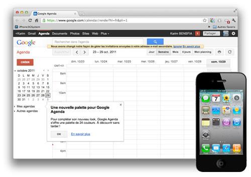 GOOGLE CAL Tip: Synchronize the iOS calendar with Google Calendar