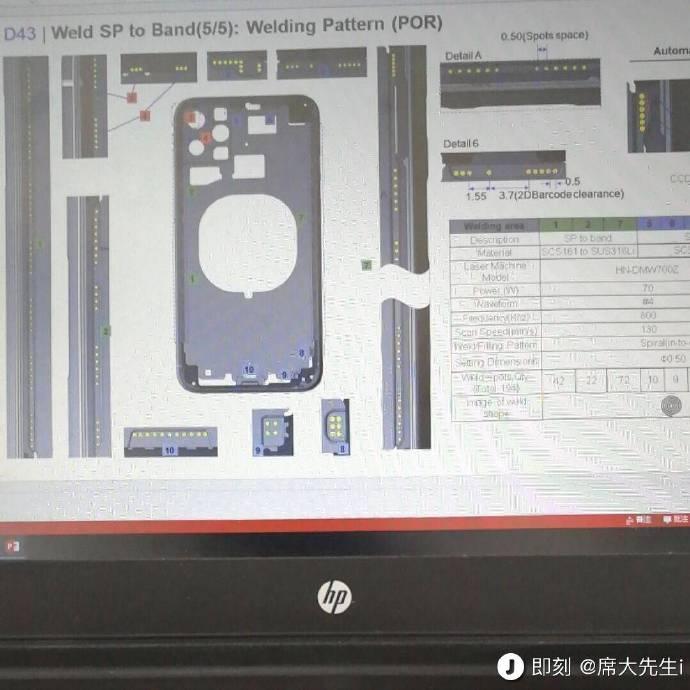 Leaked Schema iPhone 2019 - iPhone XI: a schema confirms the triple photo sensor