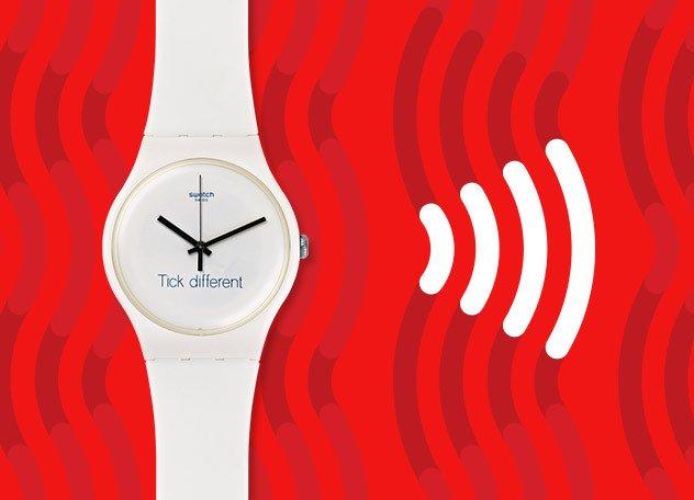swatch tick different -