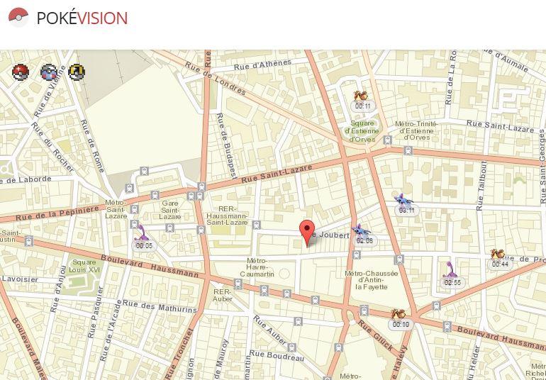 Pokevision Pokemon GO - Pokémon GO: PokéVision, cheat & locate Pokémon on a map