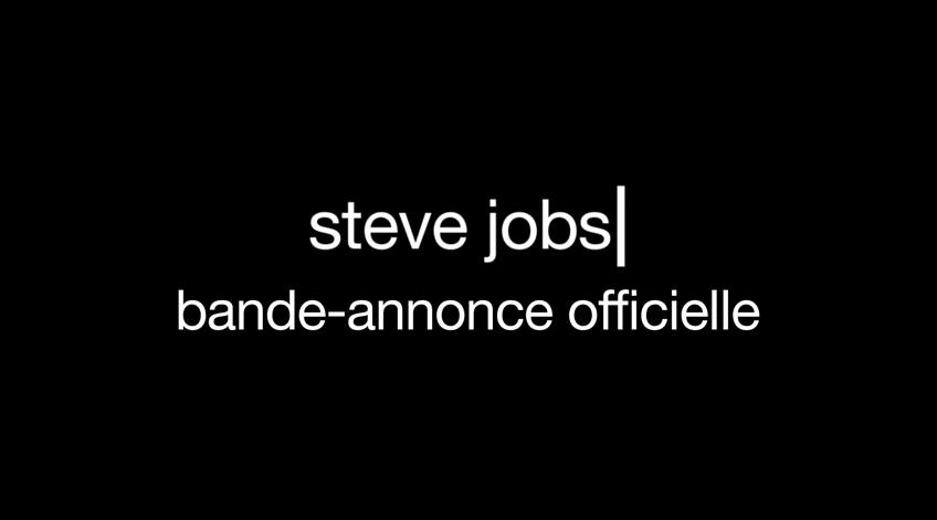 Steve Jobs official trailer - Biopic Steve Jobs: trailer available in French