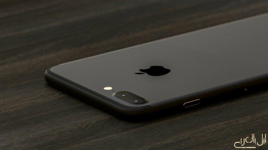Concept iPhone 7 Plus piano black - iPhone 7 Plus: a concept of the models piano black & black mat