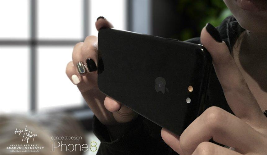 concept iphone 8 Utebayev 2 - iPhone 8 : Himax pourrait fournir Apple en capteur photo 3D