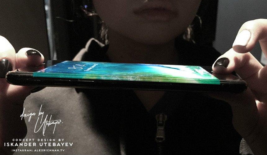 concept iphone 8 Utebayev 5 - iPhone 8 : un écran OLED 5,8 pouces plat ou incurvé ?