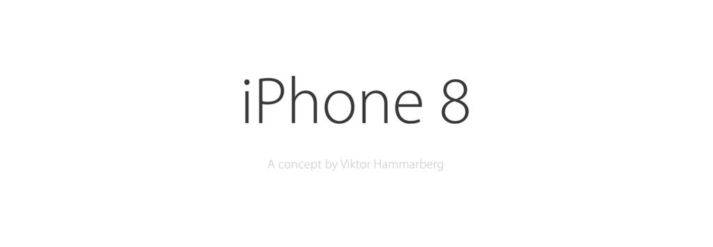 iPhone 8 1024x355 - iPhone 8: a borderless concept with iOS 11 Scroll Bar