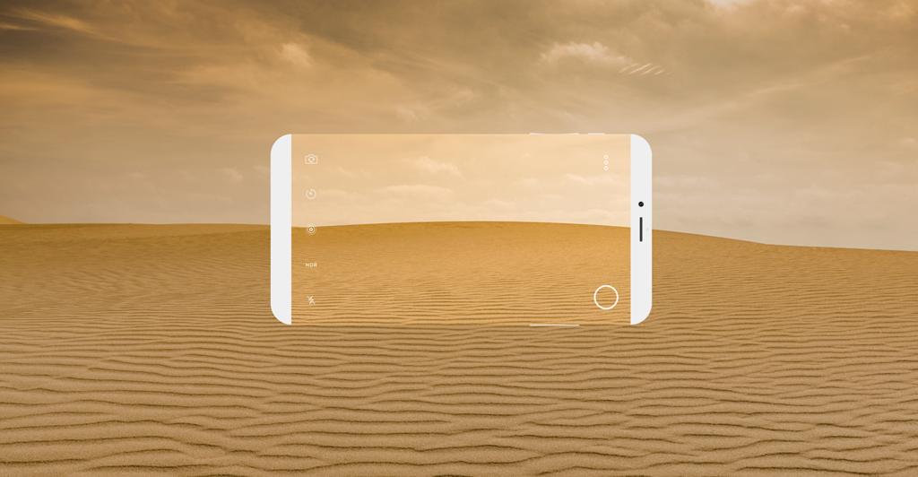 iPhone 8 Concept VIKTORH 8 1024x532 - iPhone 8: a borderless concept with Scroll Bar in iOS 11