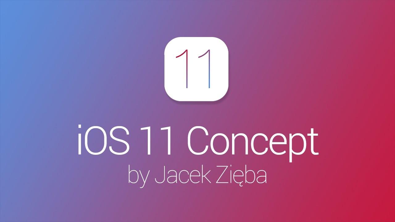 iOS 11 concept video - iOS 11: a video concept pending WWDC 2017