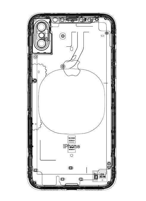 iphone 8 geskin wireless charging scheme - iPhone 8: a new scheme seems to confirm wireless charging