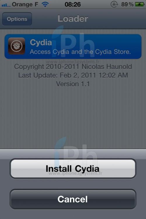 cydia 500x750 Tutorial - GreenPois0n RC5: Jailbreak 4.2.1 untethered iPhone, iPod Touch, iPad [WINDOWS]