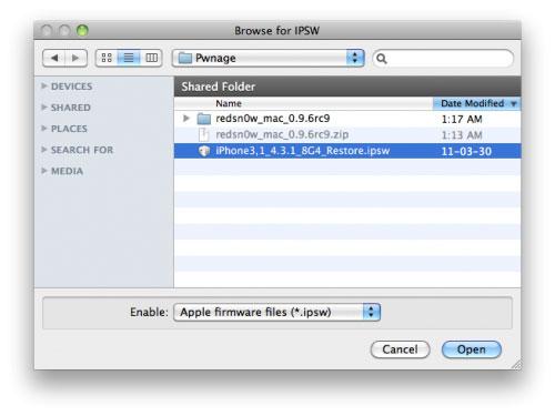 02 Jailbreak Tutorial 4.3.3 Untethered with Redsn0w 0.9.6RC 15 [MAC   WINDOWS]