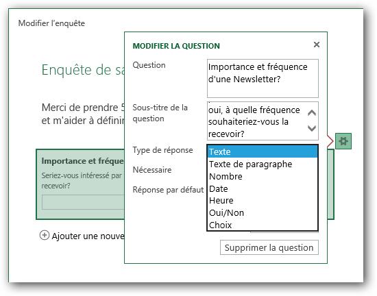 Image 5: Publi Info - Create quizzes or online surveys with Office 365