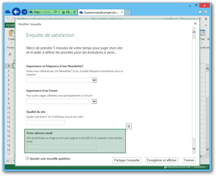 Image 8: Publi Info - Create quizzes or online surveys with Office 365