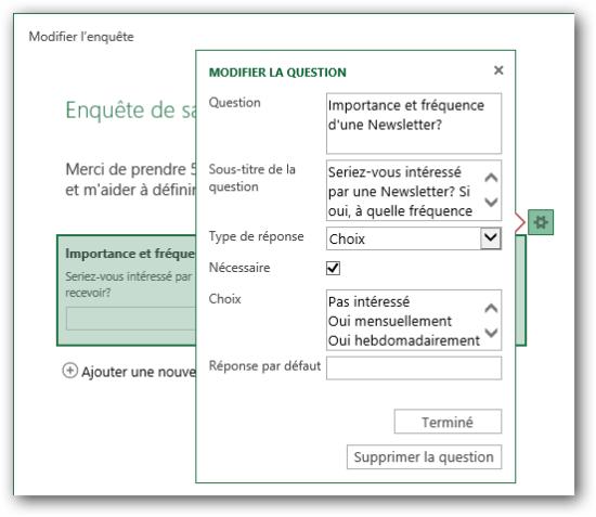 Image 7: Publi Info - Create quizzes or online surveys with Office 365