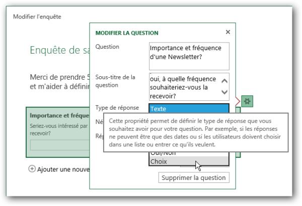 Image 6: Publi Info - Create quizzes or online surveys with Office 365