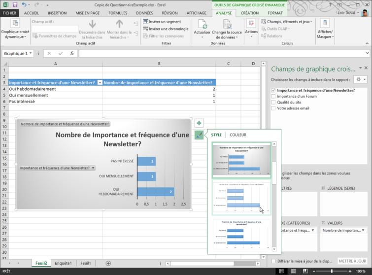Image 13: Publi Info - Create quizzes or online surveys with Office 365