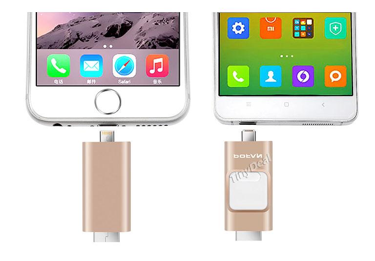 POFAN P8 USB keys iphhone android - POFAN P8: USB key for iPhone / iPad & Android smartphones