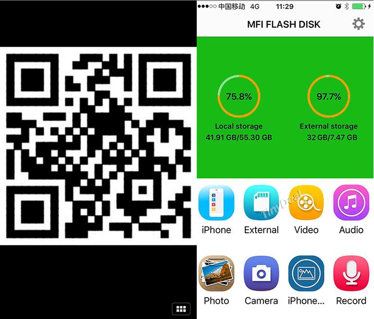 POFAN P8 app - POFAN P8: USB stick for iPhone / iPad & Android smartphones