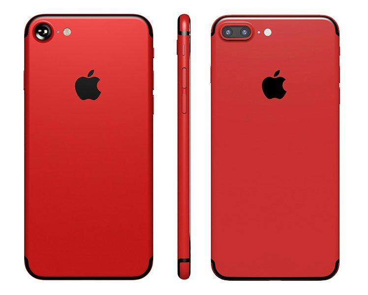 iPhone 7 7 Plus Rouge customise - Keynote Apple de mars : iPhone 7 rouge, 4 iPad Pro, iPhone SE 128 Go ?