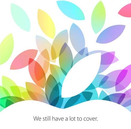 Keynote 22 octobre carton invitation - Keynote Apple du 22 octobre à suivre en live