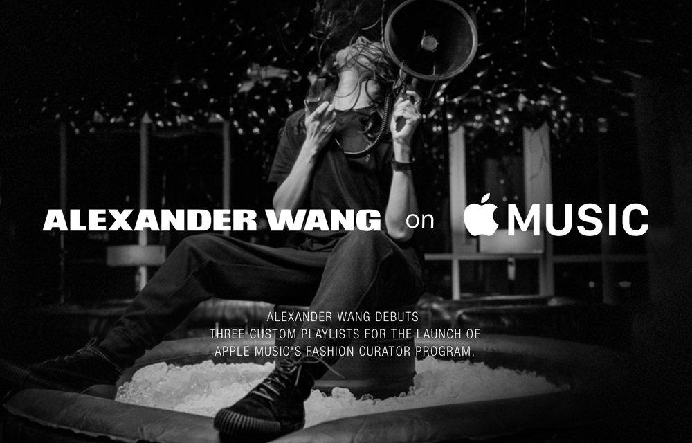 apple music nouvelles playlists fashion alexander wang - Apple Music : des playlists « Fashion » par Alexander Wang