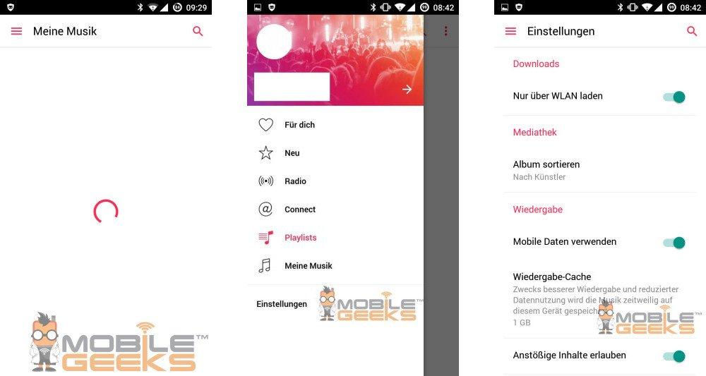 Apple Music android 01 - Apple Music sur Android se dévoile en images