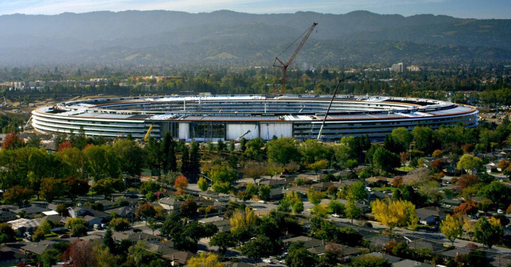 Apple Park Campus 2 1024x535 - Apple Park : le