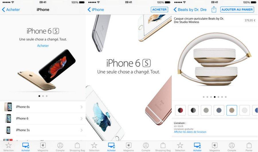 Application apple store - L'application Apple Store pourrait bientôt changer de design