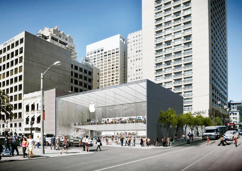 apple store san francisco - Apple prépare quelques changements pour ses boutiques