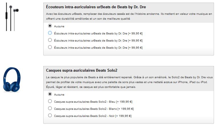 urbeats beats solo2 apple store - Apple Store : des accessoires Beats en option avec les iPhone, iPad, iPod Touch