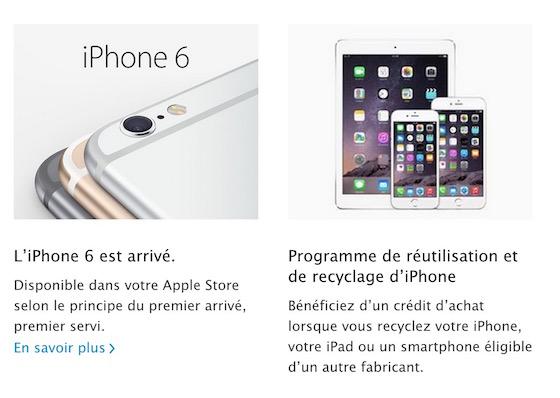 Reutilisation Recyclage Smartphones Apple Store - Apple Store : la reprise des smartphones Android enfin proposée