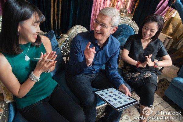 tim cook retourne chine annonce lancement nouveaux projets - Apple : Tim Cook retourne en Chine et annonce de nouveaux projets