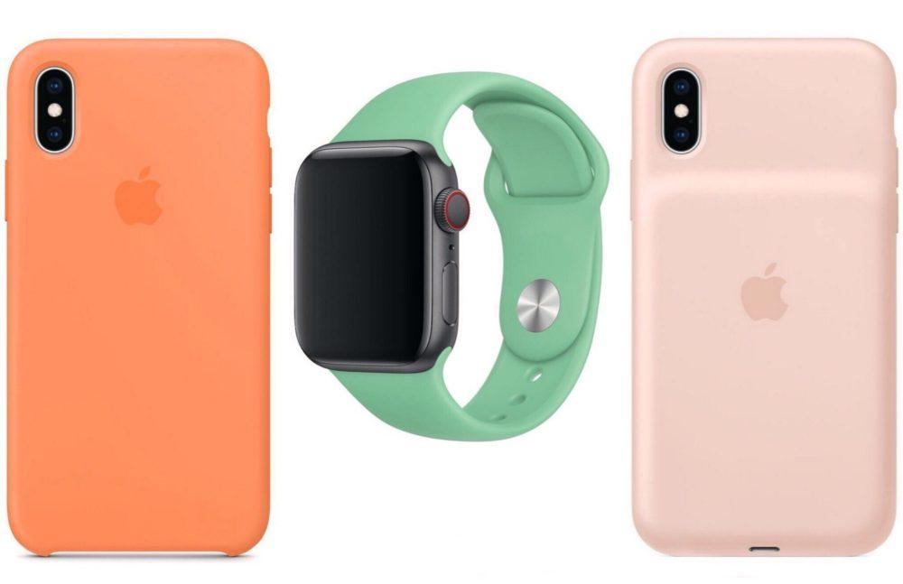 apple watch bracelets coques iPhone printemps 2019 Les bracelets Apple Watch pour le printemps 2019 sont disponibles à lachat + coques iPhone