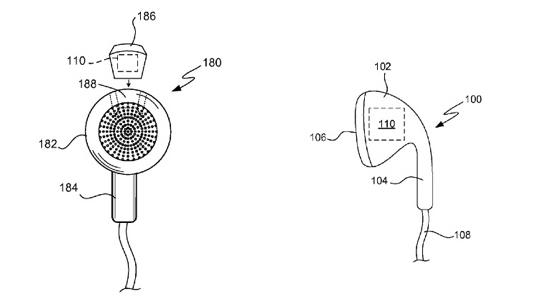 Apple brevet ecouteurs sante - Apple : un brevet d