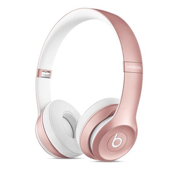 Beats Solo2 wireless or rose - Apple : un coloris or rose pour les Beats Solo2 wireless & urBeats