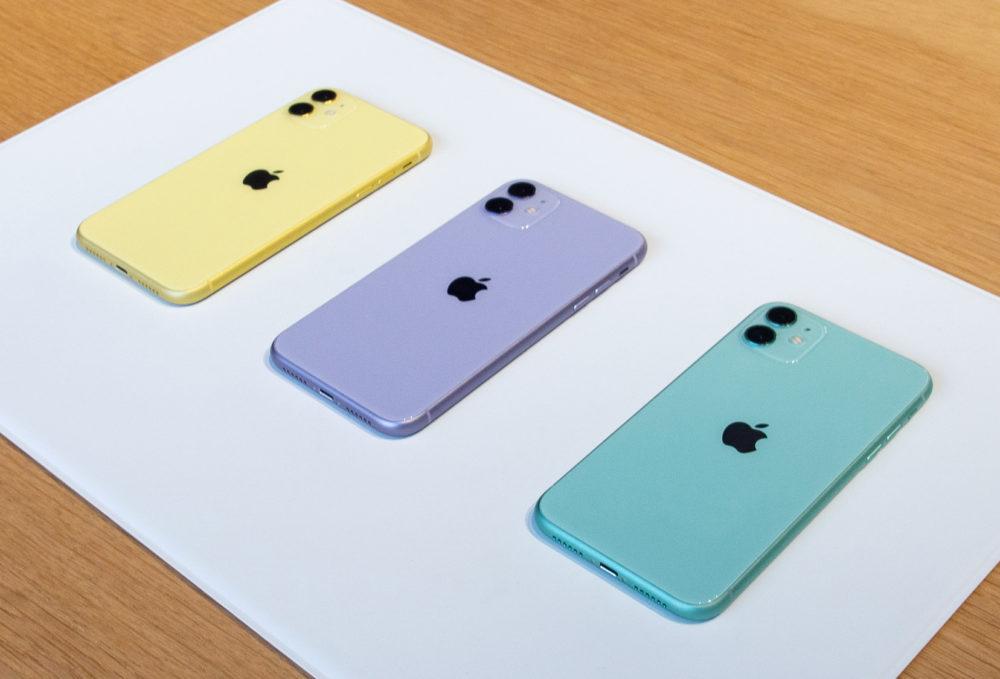 3 iPhone 11 Apple a assuré au cours du dernier trimestre, il a été le premier vendeur de smartphones