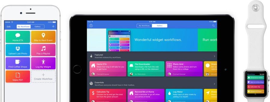 workflow application - Apple rachète l