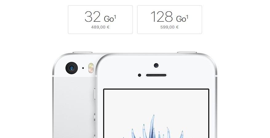iphone se 32 128 go - Apple : de nouvelles versions 32 Go & 128 Go pour l