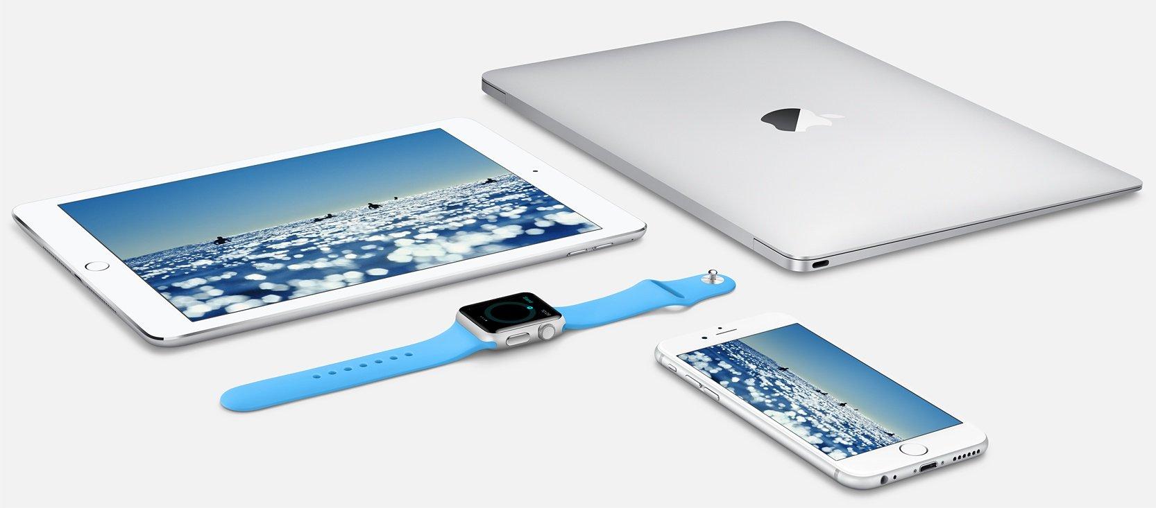 Apple produits - Mac OS X 10.11.5, watchOS 2.2.1 (Apple Watch) & tvOS 9.2.1 (Apple TV) bêtas 1 disponibles