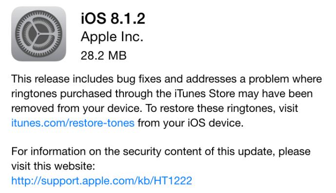 downgrade ios 8.1.2 - Apple ne signe plus iOS 8.1.2 : downgrade impossible