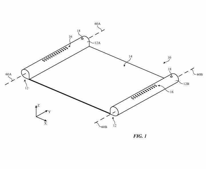 brevet apple ecran oled parchemin e1488543019995 - Brevet Apple : un écran OLED rétractable semblabe à un parchemin