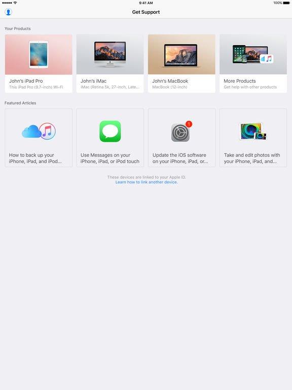 assistance apple app store - Assistance Apple enfin disponible sur l