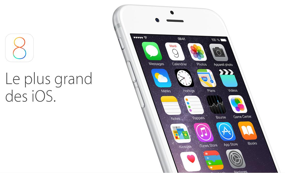 iOS 8 1024x621 - Apple : les bêtas d