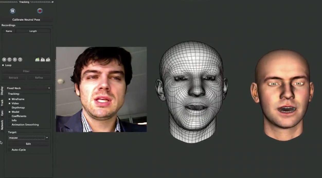 faceshift motion capture - Apple aurait racheté Faceshift, spécialiste de la motion-capture faciale