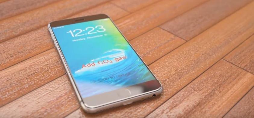 iPhone 7 concept parachute - iPhone 7 : des fournisseurs déjà prêts pour la production