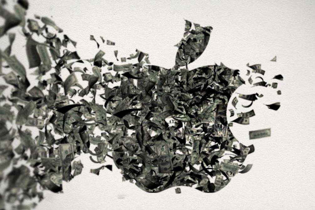 Apple logo dollars - Apple : nouveau chiffre d