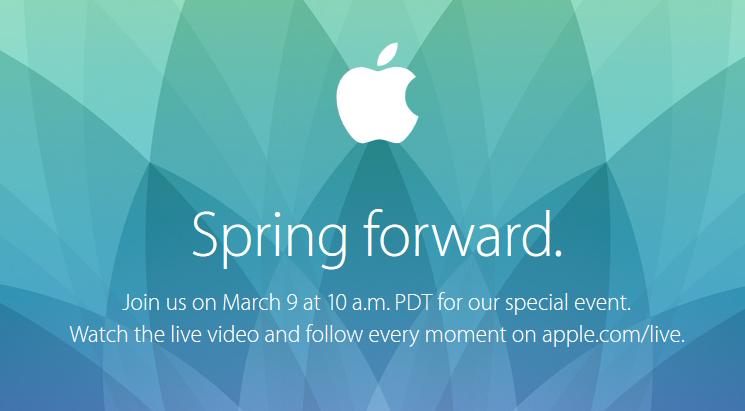 Apple keynote 9 mars live - Keynote Apple : un streaming vidéo en direct le 9 mars