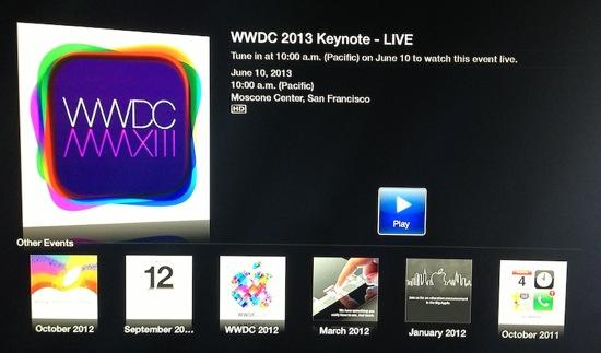 WWDC 2013 Keynote - Keynote WWDC 2013 : diffusée en direct par Apple