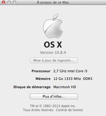 OS X 10.8.4 - Mac : OS X 10.8.4 enfin disponible