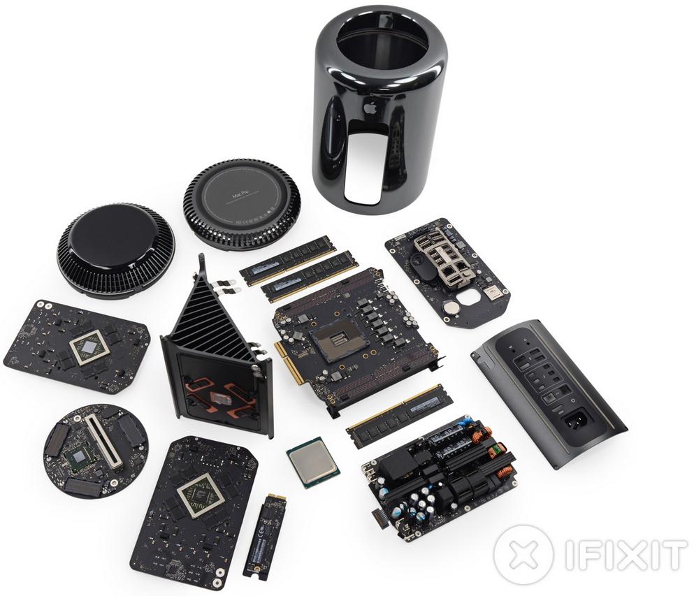 Mac Pro iFixit - Mac Pro : une réparation facile selon iFixit